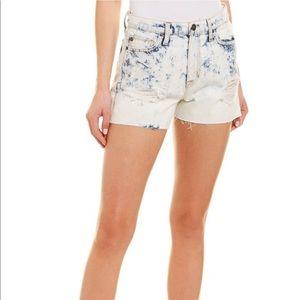 NWT Hudson Sade Cut Off Shorts in Cloud 9 Sz 27